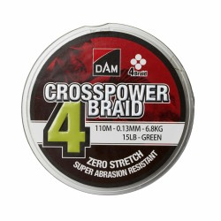Plecionka DAM Crosspower 4-Braid 0,22mm 110m 11,6kg
